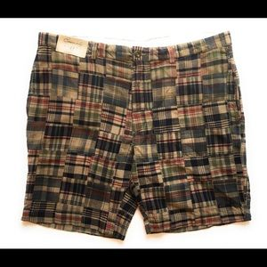 Round tree & yorke plaid shorts, Sz 42
